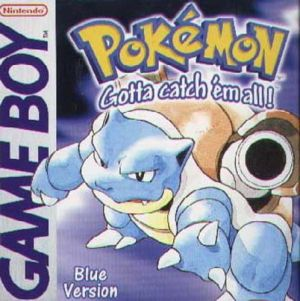 Pokémon: Blue - Gotta Catch `em all (Game Boy) for Game Boy