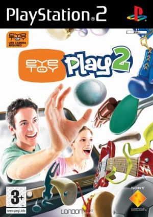 EyeToy: Play 2 (PS2) for PlayStation 2