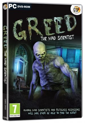 Greed The Mad Scientist (PC DVD) for Windows PC