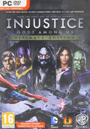 Injustice: Gods Among Us Ultimate Edition UK (PC DVD) for Windows PC