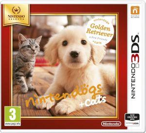 Nintendo Selects Nintendogs + Cats (Golden Retriever + New Friends) for Nintendo 3DS