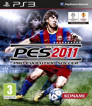 Pro Evolution Soccer 2011 for PlayStation 3