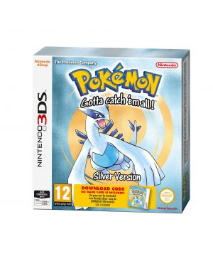 3DS Pokemon Silver Packaged Download Code (Nintendo 3DS) for Nintendo 3DS