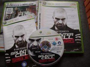 Splinter Cell - Double Agent XBOX 360 for Xbox 360
