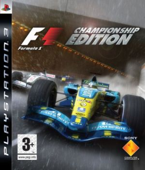 Formula One Championship Edition for PlayStation 3