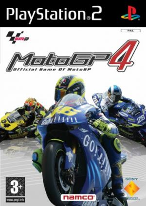 Moto GP4 (PS2) for PlayStation 2