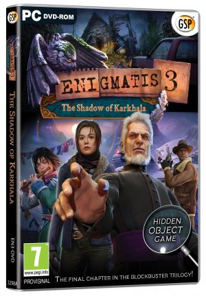 Enigmatis 3 - The Shadow Of Karkhala (PC DVD) for Windows PC