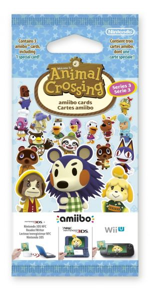 Animal Crossing: Happy Home Designer Amiibo Cards Pack - Series 3 (Nintendo 3DS) for Nintendo 3DS