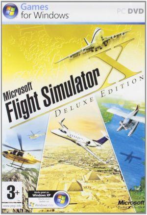 Microsoft Flight Simulator X: Deluxe Edition (PC) for Windows PC