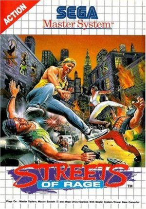 Streets of rage - Master System - PAL for Master System