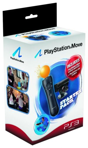 Sony PlayStation 3 Move Starter Pack with PlayStation Eye Camera and Move Controller for PlayStation 3