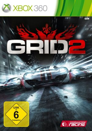 GRID 2 [German Version] for Xbox 360
