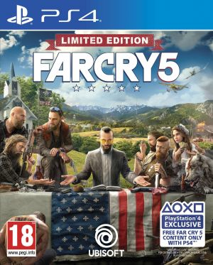 Far Cry 5 [Limited Edition] for PlayStation 4