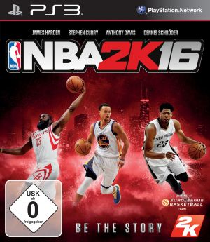 NBA 2K16 (USK ohne Altersbeschränkung) PS3 for PlayStation 3