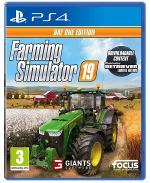 Farming Simulator 19 Day One Edition (PS4) for PlayStation 4