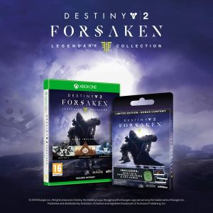 Destiny 2: The Forsaken Legendary Collection Limited Edition with Bonus Digital Content + Collectors Items (Exclusive to Amazon.co.uk) (Xbox One) for Xbox One