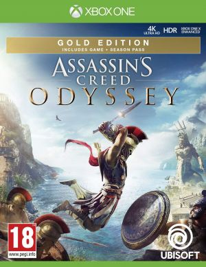 Assassins Creed Odyssey Gold Edition (Xbox One) for Xbox One