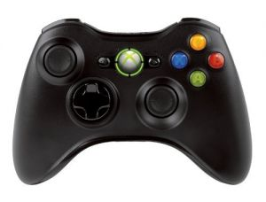 Official Xbox 360 Wireless Controller - Black (Xbox 360) for Xbox 360