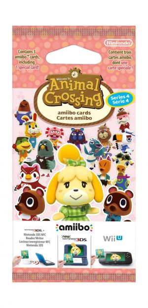 Animal Crossing: Happy Home Designer Amiibo Cards Pack - Series 4 (Nintendo 3DS/Nintendo Wii U) for Nintendo 3DS