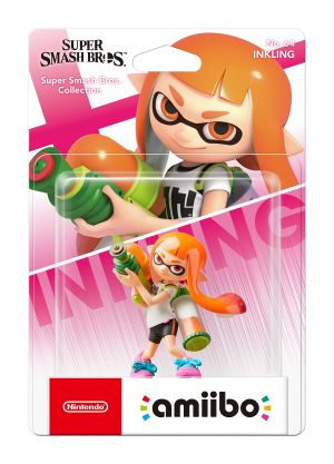 amiibo Inkling Girl (Nintendo Switch) for Nintendo Switch