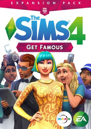 The Sims 4 Get Famous Expansion Pack (PC DVD) for Windows PC
