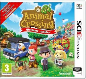 Animal Crossing Welcome Amiibo for Nintendo 3DS