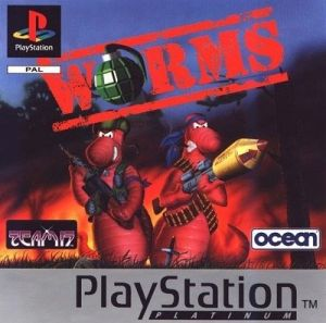 Worms [Platinum] for PlayStation