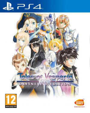 Tales Of Vesperia Definitive Edition (PS4) for PlayStation 4