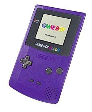 Nintendo Purple Console (GBC) for Game Boy Color