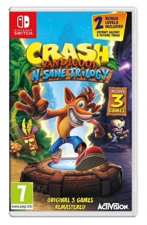 Crash Bandicoot N. Sane Trilogy (Nintendo Switch) for Nintendo Switch