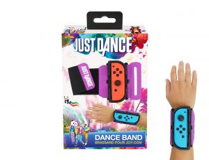 Just Dance 2019 - Dance Band - JoyCon Nintendo Switch controller cuff - Adjustable elastic strap with space for Joy-Cons left or right for Nintendo Switch