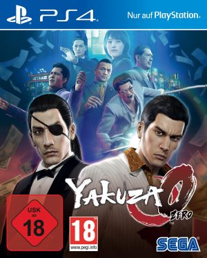 SEGA Yakuza Zero - PS4 FSK18 for PlayStation 4