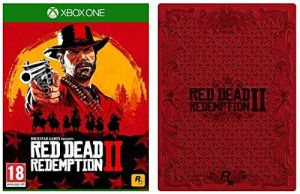Red Dead Redemption 2 with Collectible SteelBook (Exclusive to Amazon.co.uk) (Xbox One) for Xbox One