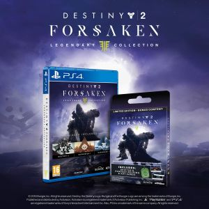 Destiny 2: The Forsaken Legendary Collection Limited Edition with Bonus Digital Content + Collectors Items (Exclusive to Amazon.co.uk) (PS4) for PlayStation 4