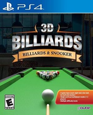 3D Billards: Billards & Snooker for PlayStation 4 for PlayStation 4