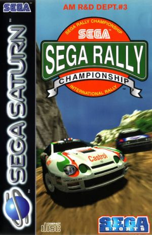 Sega Rally Championship for Sega Saturn