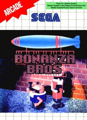 Bonanza Bros. for Master System
