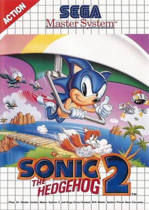 Sonic The Hedgehog 2 for Master System