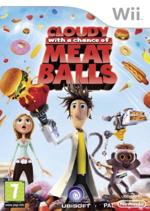 Cloudy With A Chance of Meatballs for Wii