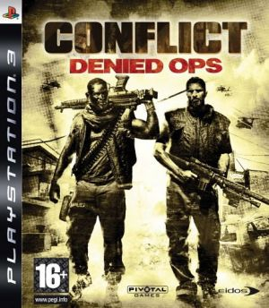 Conflict: Denied Ops for PlayStation 3