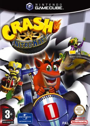 Crash Nitro Kart for GameCube