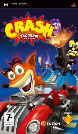 Crash Tag Team Racing for Sony PSP