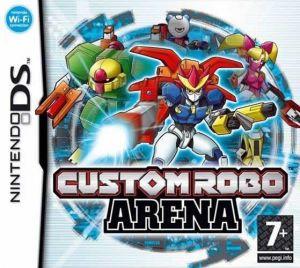 Custom Robo Arena for Nintendo DS