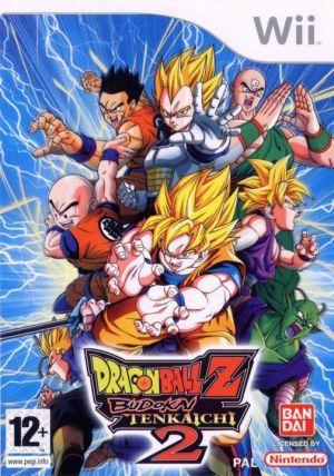 Dragon Ball Z Budokai Tenkaichi 2 for Wii