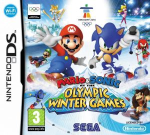 Mario & Sonic at the Olympic Winter Games for Nintendo DS