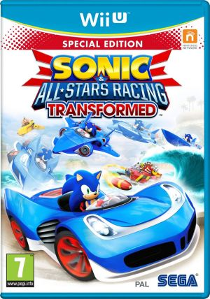 Sonic & All-Stars Racing Transformed - Special Edition for Wii U