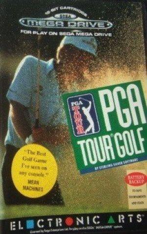 PGA Tour Golf for Mega Drive