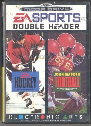 EA SPORTS Double Header: EA Hockey, John Madden Football for Mega Drive