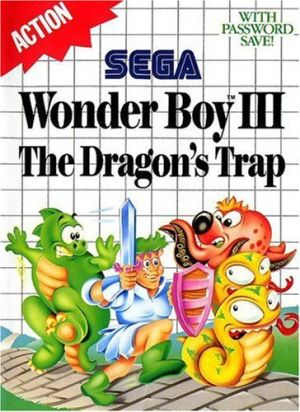 Wonder Boy III: The Dragon's Trap for Master System