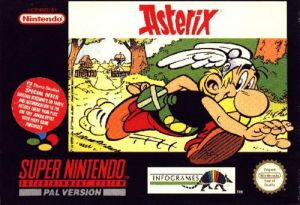 Astérix for SNES